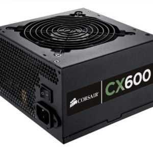 Corsair CX Series, CX600, Power Supply, 80+