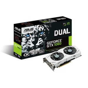 ASUS GeForce GTX 1060 3GB Dual-Fan OC