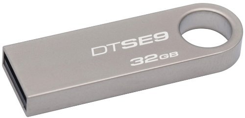 Kingston Digital DataTraveler SE9 32GB USB 2.0 Flash Drive