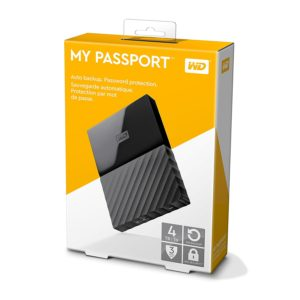 WD 4TB Black My Passport