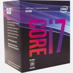 Intel 8th Gen Core i7-8700 Processor (BX80684I78700)