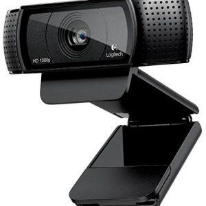 Logitech HD Pro Webcam C920.
