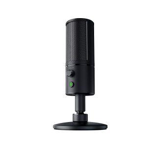 Razer Seiren X USB Streaming Microphone.