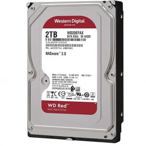 WD Red 2TB NAS Hard Drive.