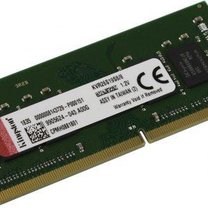 Kingston ValueRAM 8Gb DDR4-2666 SO-DIMM (KVR26S19S8/8-N)