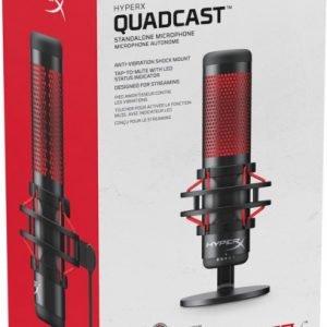 HyperX Quadcast USB Condenser Gaming Microphone (HX-MICQC-BK)
