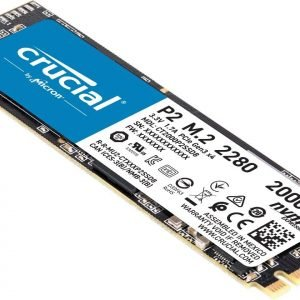 Crucial P2 2TB 3D NAND NVMe PCIe M.2 SSD Up to 2400MB/s - CT2000P2SSD8