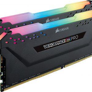 CORSAIR VENGEANCE RGB PRO 16GB (2x8GB) DDR4 3600MHz C18 LED Desktop Memory