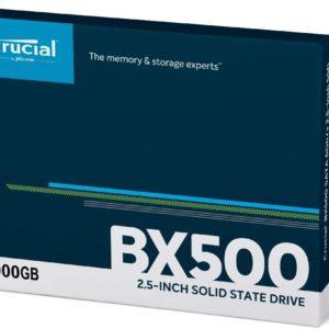 Crucial BX500 2TB 3D NAND SATA 2.5-Inch Internal SSD, up to 540MB/s - CT2000BX500SSD1