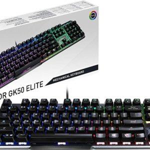 MSI Vigor GK50 Elite BW Gaming RGB LED