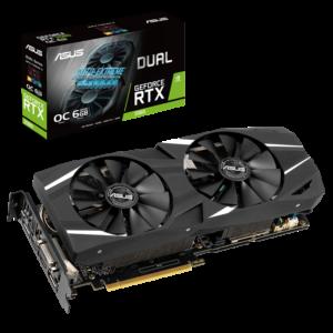 ASUS Dual GeForce RTX™ 2060 OC edition 6GB GDDR6
