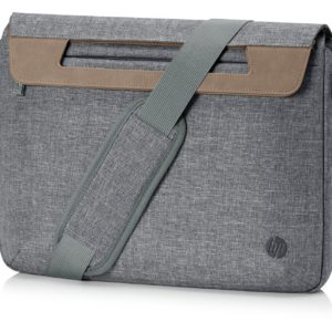 HP 14 Renew Grey Brief Case (1A214AA)