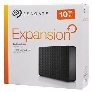 Seagate Expansion Desktop 10TB External Hard Drive HDD - USB 3.0 for PC & Laptop,(STEB10000400)