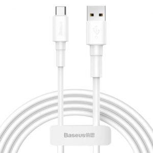 Baseus Mini White Cable USB For Type-C 3A 1m White (CATSW-02)