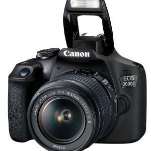 Canon DSLR EOS 2000D 1855IS+SB130+16GB 2728C015-N