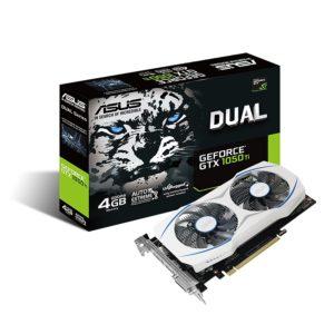ASUS Geforce GTX 1050 Ti 4GB Dual-Fan