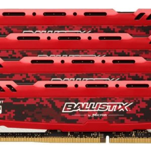 Ballistix Sport LT 64GB Kit (16GBx4) DDR4