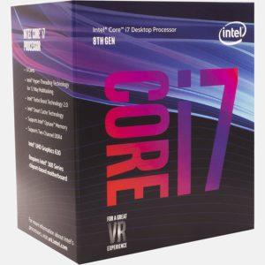 Intel 8th Gen Core i7-8700 Processor (BX80684I78700)