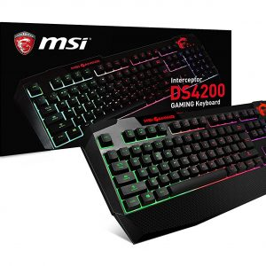 MSI Interceptor DS4200 GAMING Keyboard