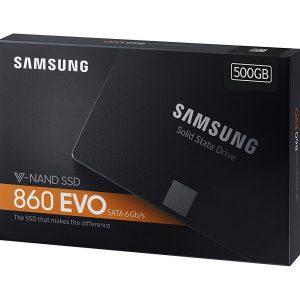 Samsung 860 EVO 500GB.
