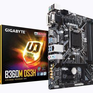 GIGABYTE B360M DS3H.