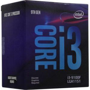 Intel® Core™ i3-9100F.
