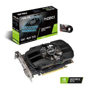 ASUS GeForce GTX 1650 4GB Phoenix Fan OC Edition.