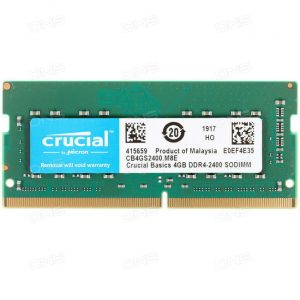 Crucial Basics 4GB DDR4-2400.