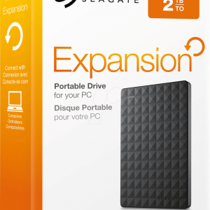 Seagate Expansion Portable 2 TB.