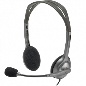 Logitech Corded Stereo Headset H110.