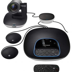 Logitech - Kit for video conferencing.