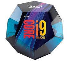 Intel Core i9-9900K.