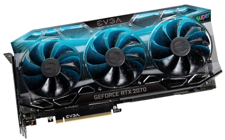 EVGA GeForce RTX 2070 Super Ultra+.