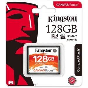 Kingston 128GB Canvas Focus CompactFlash Memory Card