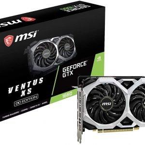 MSI GTX1660 VENTUS XS 6G OC