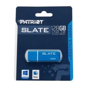 Patriot Slate USB 3.0 Flash Drive, 128 GB, Blue (PSF128GLSS3USB )
