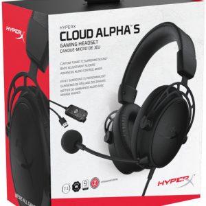 HyperX Cloud Alpha S Blackout (HX-HSCAS-BK/WW)