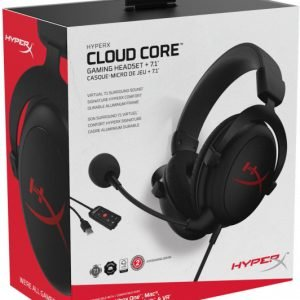 HyperX Cloud Core + 7.1 Black (HX-HSCC-2-BK/WW)