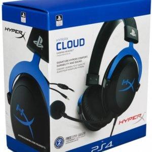HyperX Cloud Blue для PS4 (HX-HSCLS-BL/EM)