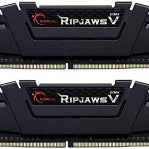 G.Skill RipJaws V Series 64GB (2 x 32GB) DDR4 3600 (PC4-28800) F4-3600C18D-64GVK