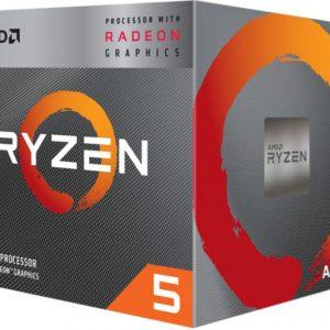 AMD Ryzen™ 5 3400G AM4 (3.7 GHz 4MB Cache)(YD3400C5FHBOX)