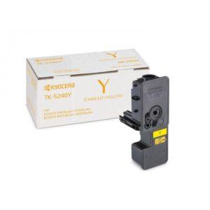 Тонер-картридж Kyocera TK-5240Y для P5026cdn/cdw, M5526cdn/cdw (1T02R7ANL0)