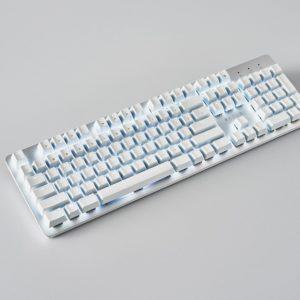 Razer Gaming Keyboard Pro Type Orange Switch WL/BT/USB US LED, White (RZ03-03070100-R3M1)
