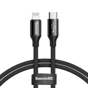 Кабель Baseus Yiven USB Type-C to Lightning 2A 1м Black (CATLYW-C01)